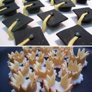 Crowns, Graduation Hats