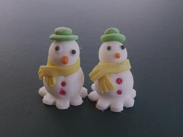 Christmas Topper ( Snow Man )